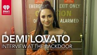 Demi Lovato on Christina Aguilera's 'Stripped' Inspiration | iHeartRadio Album Release Party