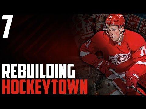 "NHL 17 - Detroit Red Wings Franchise Mode #7 ""2017 Draft"""