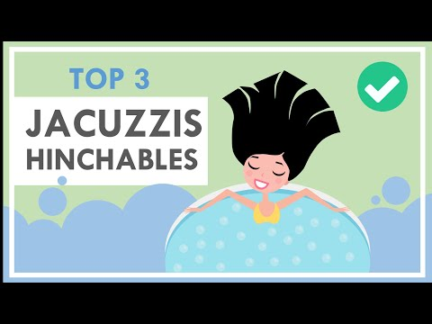 ✔ JACUZZI HINCHABLE  | 🥇TOP 3 | *Exterior e Interior* (Piscinas Inflables)