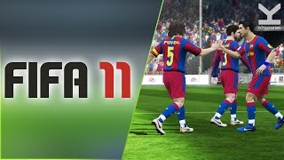 FIFA 11 (2010) PC - Barcelona Vs Manchester United