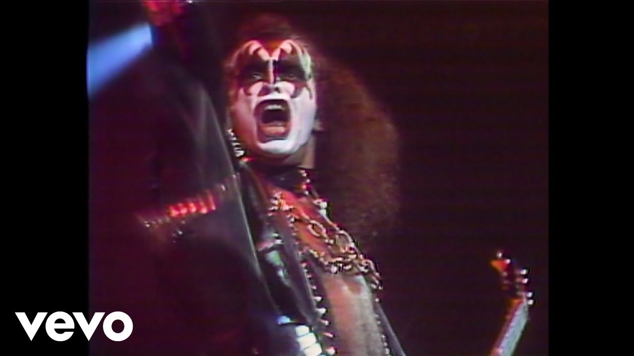 Kiss Rock And Roll All Nite From Kiss Exposed Youtube