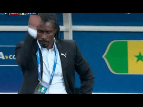 Senegal VS POLAND 2 - 1 Coach broke out the World Cup's most meme-worthy celebration