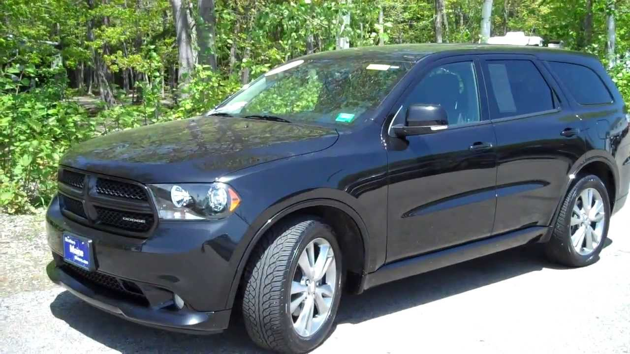 Used 2012 Dodge Durango R/T #8666A Southern Maine Motors Saco Me Bangor Portland Boston