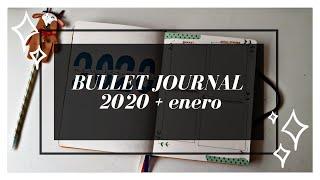 Bullet Journal 2020 + Enero | Último vídeo del año