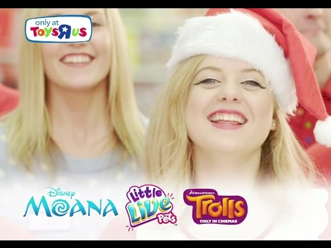 Only At Toys R Us - Disney's Moana, Little Live Pets Tiara My Dream Puppy & Trolls Guess Who? Game