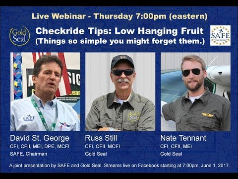 Gold Seal LIVE: Checkride Tips!