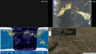 Nightlight Robotic Arm View - NASA/ESA ISS LIVE Space Station With Map - 572 - 2019-03-18