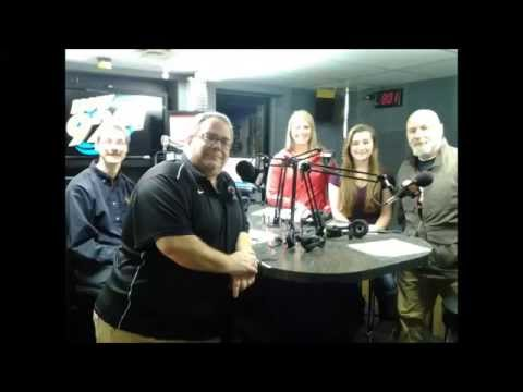 The Morning Show with Greg Lawrence   Necedah Powerlifting