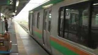 高崎線・湘南新宿ライン 特別快速小田原行 高崎駅 E231 thumbnail