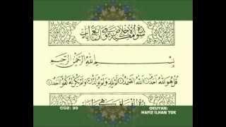 ihlas felak nas fatiha elif lam mim hafız ilhan tok