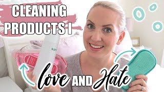 CLEANING PRODUCTS I LOVE AND HATE   Sarah-Jayne Fragola