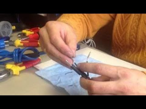 Муфтирование - подключение греющего саморегулирующегося кабеля - самрега