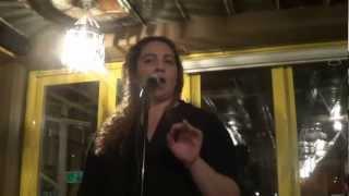 Poet Maya Osborne - Fat Girl Blues @ The Inspired Word 2013 NYC Poetry Slam