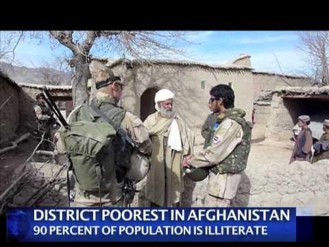 Dutch troops on patrol in Afghanistan