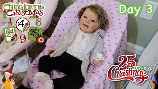Reborn Coundown to Christmas! Changing Baby Miley - Day 3 | Kelli Maple