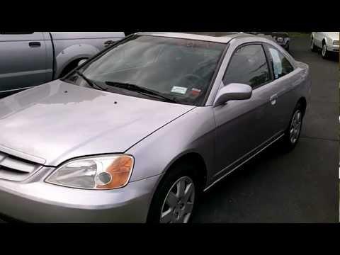 For Sale 2001 Honda Civic EX 2 Door COUPE