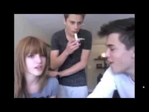 Bella Thorne Livestream 6 06 11 avec Remy Thorne  Garrett Backstrom pt16