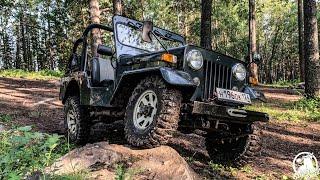 Легендарный внедорожник Mitsubishi Jeep