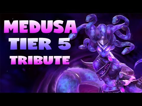 SMITE: Medusa Tier 5 Skin Tribute, Vote Medusa! Medusa Montage