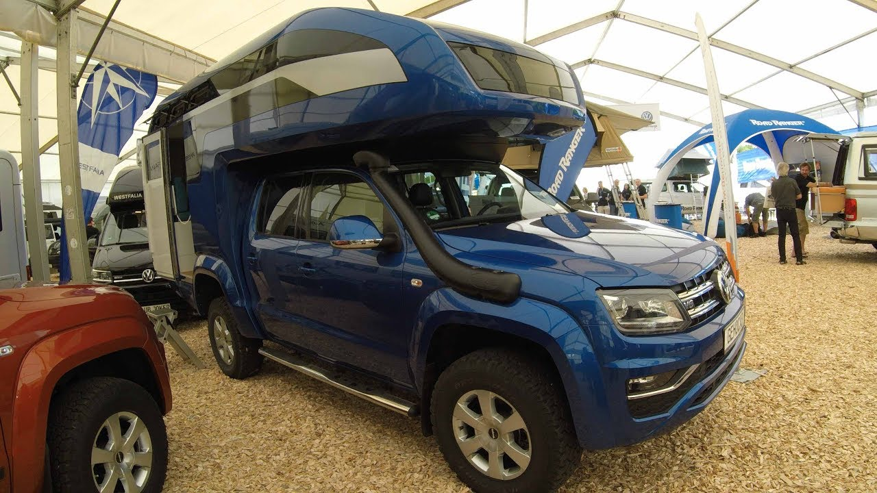 volkswagen vw amarok v6 new model camper ocean kora. Black Bedroom Furniture Sets. Home Design Ideas