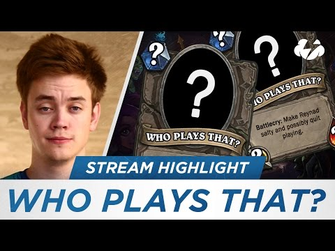 Reynad - Who plays that ?!?
