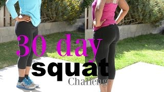 30 day squat challenge before and after results   does it work   should i do 140 or 250 squats
