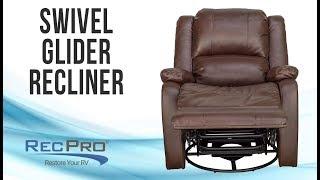 "30"" RecPro Charles Swivel Glide RV Recliner"