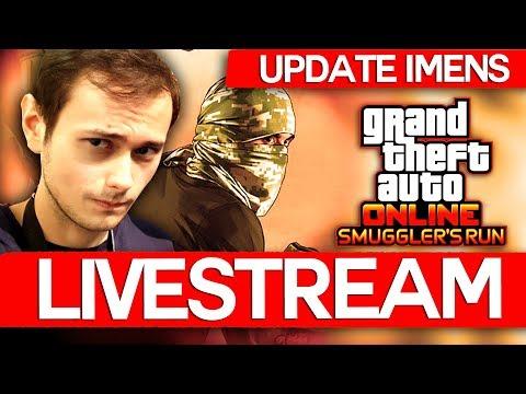 LIVESTREAM! UPDATE IMENS IN GTA ONLINE LANSAT!