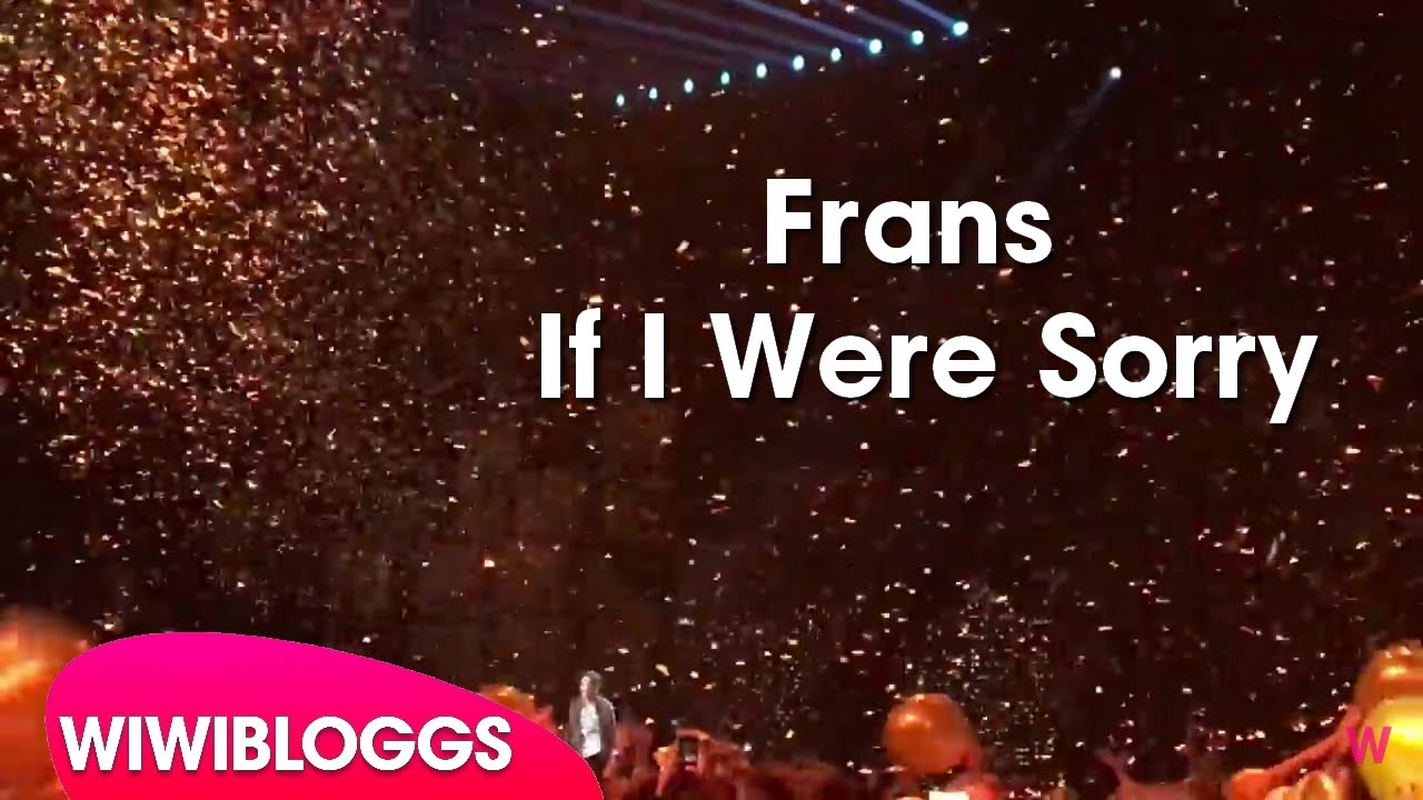 if i were sorry frans