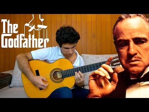 The Godfather Theme Song - Solo Acoustic Guitar (Marcos Kaiser) #45