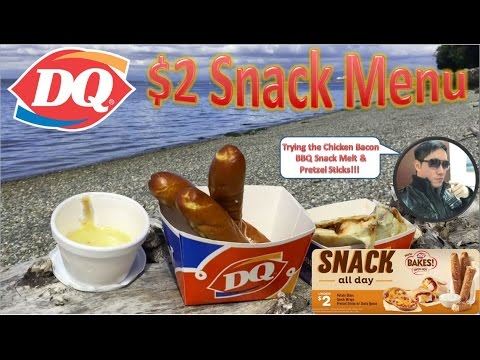 Dairy Queen $2 Snack Menu