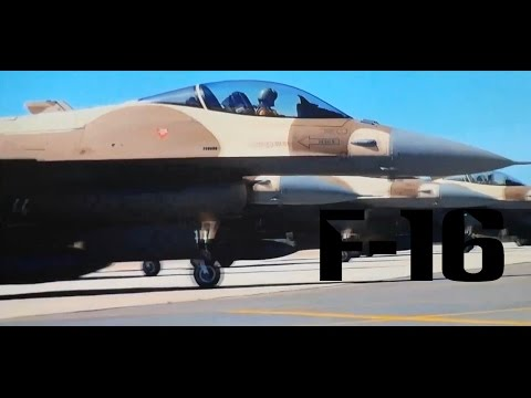 Moroccan F-16 Atlas Falcon / RMAF F16 block 52+ | 2014 | HD |