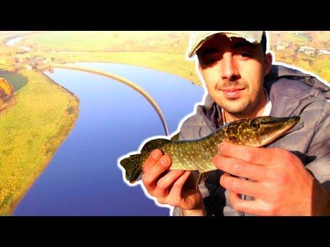 Pike Fishing A Massive Reservoir