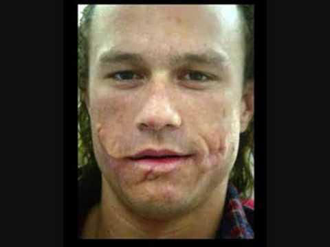 make up pic for heath ledger 39 s role as the joker in the. Black Bedroom Furniture Sets. Home Design Ideas