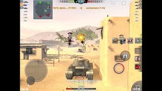 World of Tanks Blitz - T110E4, Desert Sands