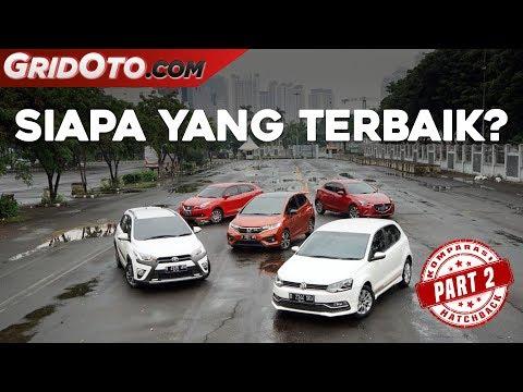 Suzuki Baleno vs Toyota Yaris Heykers vs Honda Jazz RS vs Mazda2 vs VW Polo I Komparasi I GridOto I