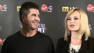 Simon Cowell jokes Amanda Holden