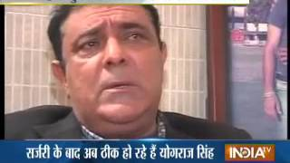 Yuvi's father Yograj Singh diagnosed with cancer