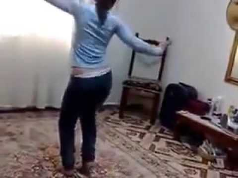 arab teen girl dance