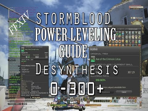 Ffxiv Crafting Power Leveling Guide