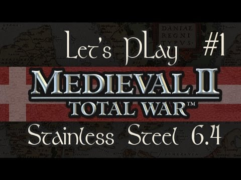 Let's Play: Medieval 2: Total War SS6.4 Denmark - Ep. 1