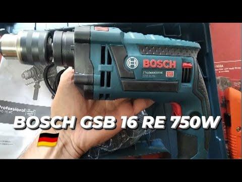 BOSCH GSB 16 RE 750W Maletín 2020 - unboxing por Gonzalo Zapata