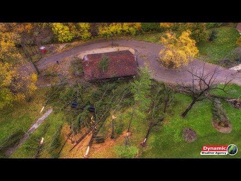 Muncie, Indiana Tornado/Straight-line Wind Damage 11/5/17