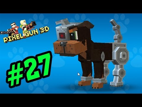 Pixel Gun Game Mobile #27 - Pet Mới Chó Robot Cute - Xạ Thủ Minecraft PE  Android, Ios
