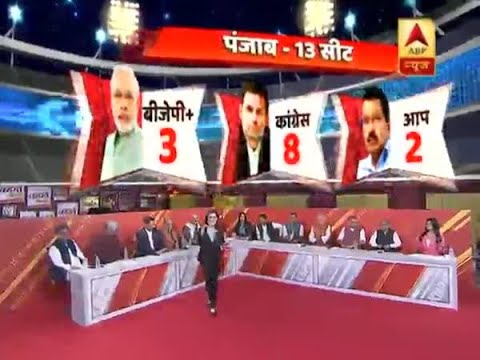 ABP Exit Poll 2019 predicts 8 seats for Congress in Punjab