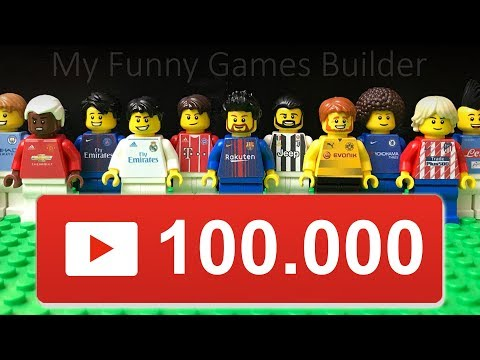 Thanks for 100.000 Subscribers ! • 100K #MFGB Lovers • My Funny Games Builder