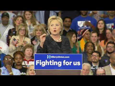 Hillary Clinton Delivers Remarks Following Projected Primary Win in Mississippi