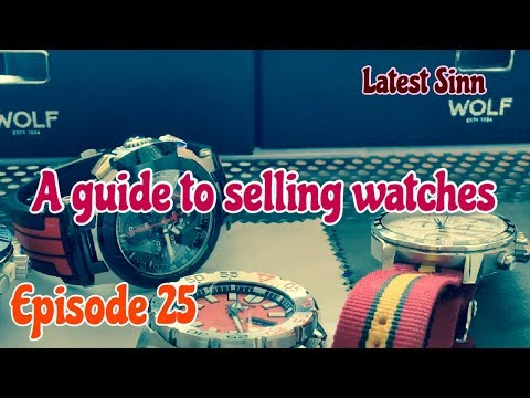 A Guide To Selling Watches Online