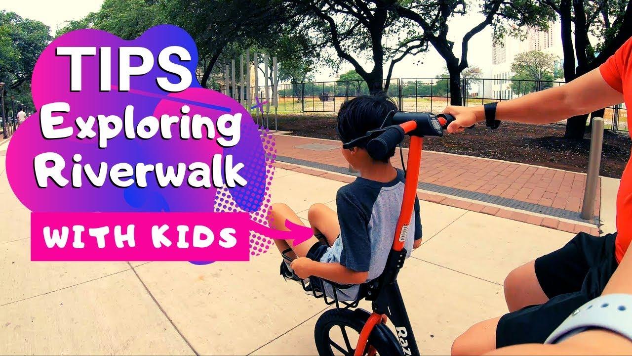 River Walk with kids / San Antonio