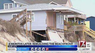 NC beach communities still rebuilding after Hurricane Florence
